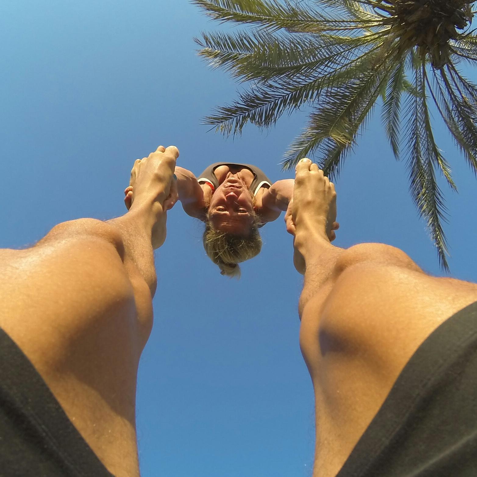 Duo Scacciapensieri Privat Akrobatik Bilder Lorenz Matter Cornelia Clivio