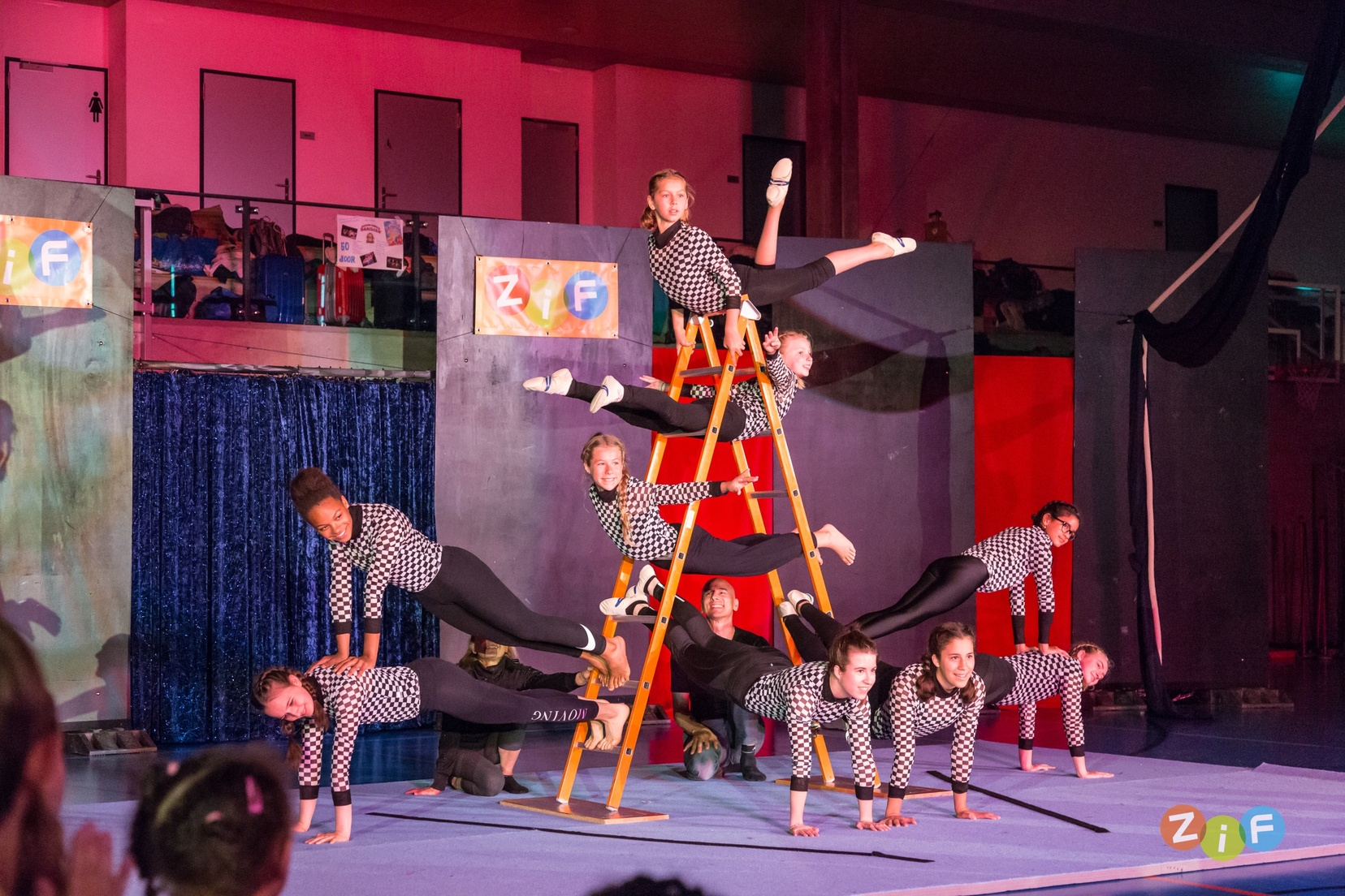 Kinderzirkus am Bach Zürich am ZIF 2019 in Lausen